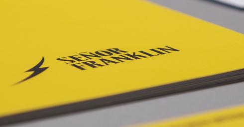 Señor Franklin - Branding por Drool Studio