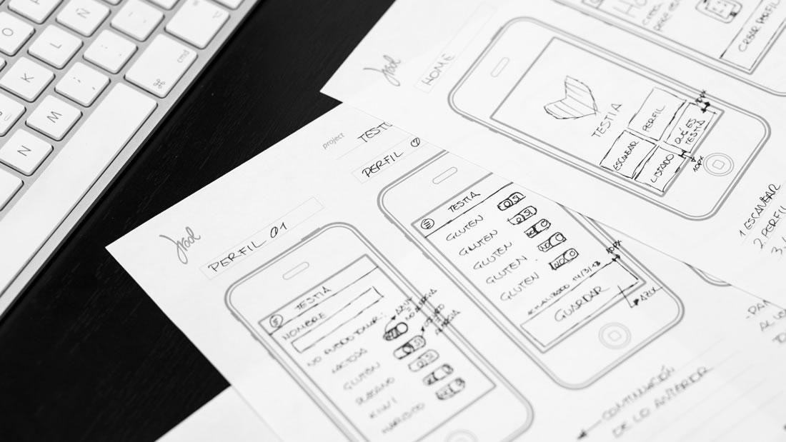 Proceso de diseño de una app de móvil