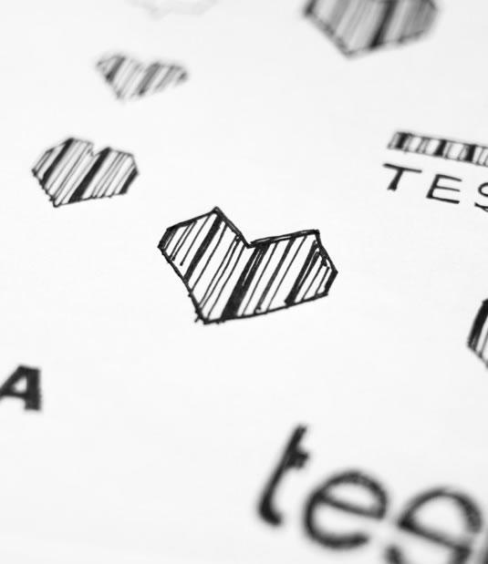 Logotipo Testia por Drool estudio creativo - 5