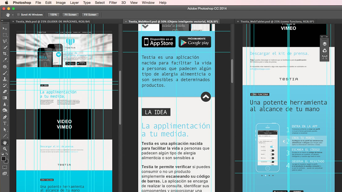 Diseño web Testia por Drool estudio creativo - 8