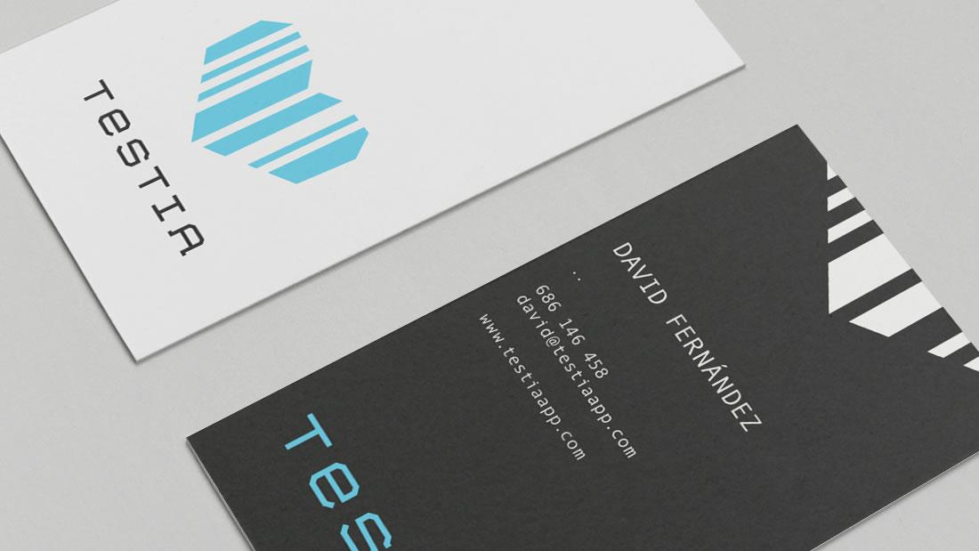 Branding Testia por Drool estudio creativo - 2
