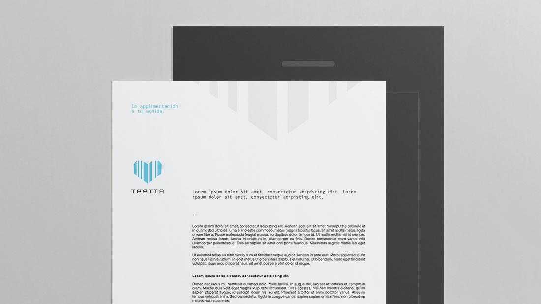Branding Testia por Drool estudio creativo - 3