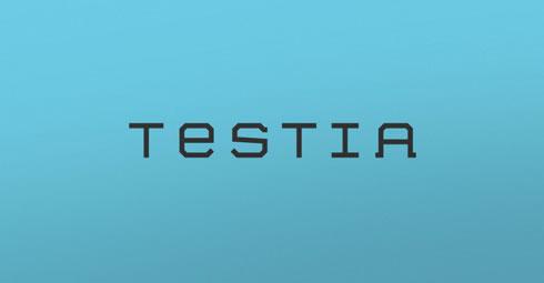Testia - Branding / Diseño web por Drool Studio