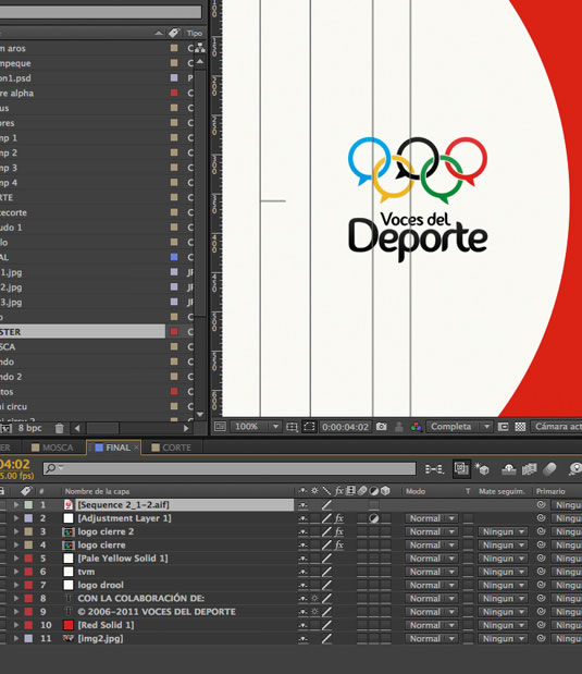 Motion graphics Voces del Deporte por Drool estudio creativo - 17