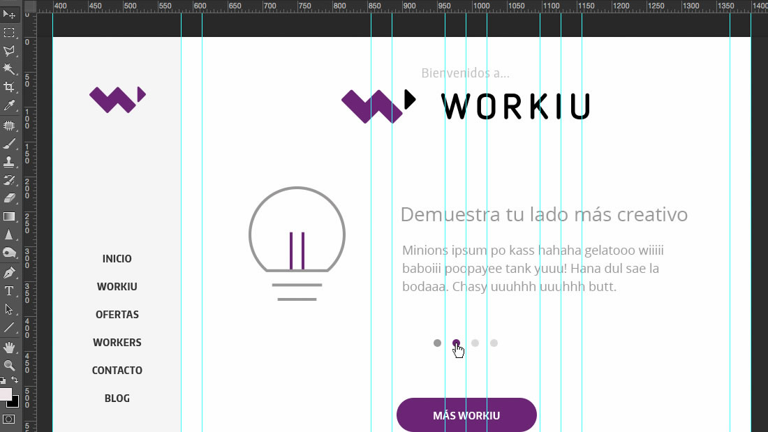 Diseño web Workiu por Drool estudio creativo - 5