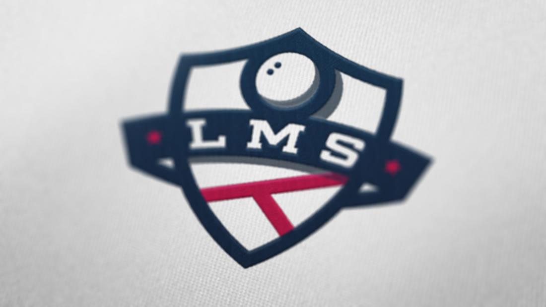 Logotipo Liga Murcia Squash por Drool estudio creativo - 3