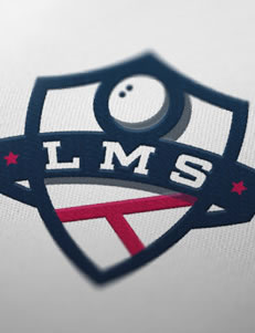 Liga Murcia Squash - Branding por Drool Studio