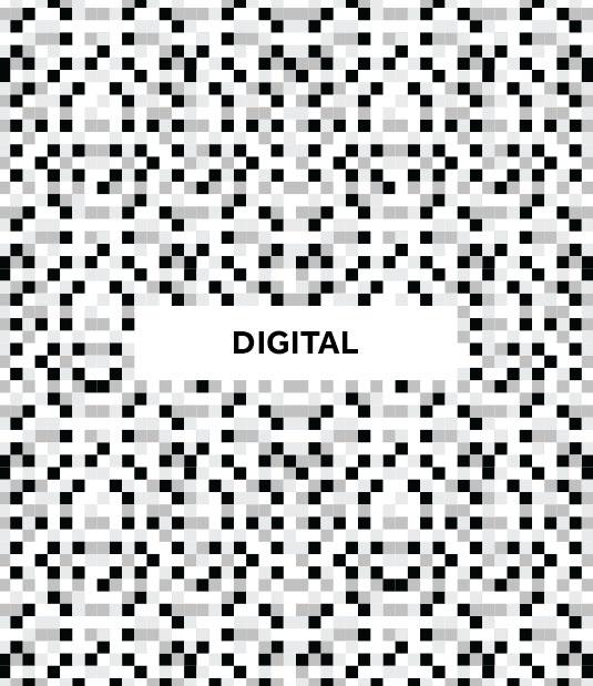 Construimos una identidad visual basada en el elemento por excelencia dentro del mundo digital: el píxel