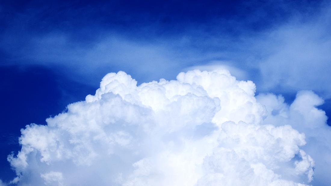 Como base partimos de la representación gráfica de una nube