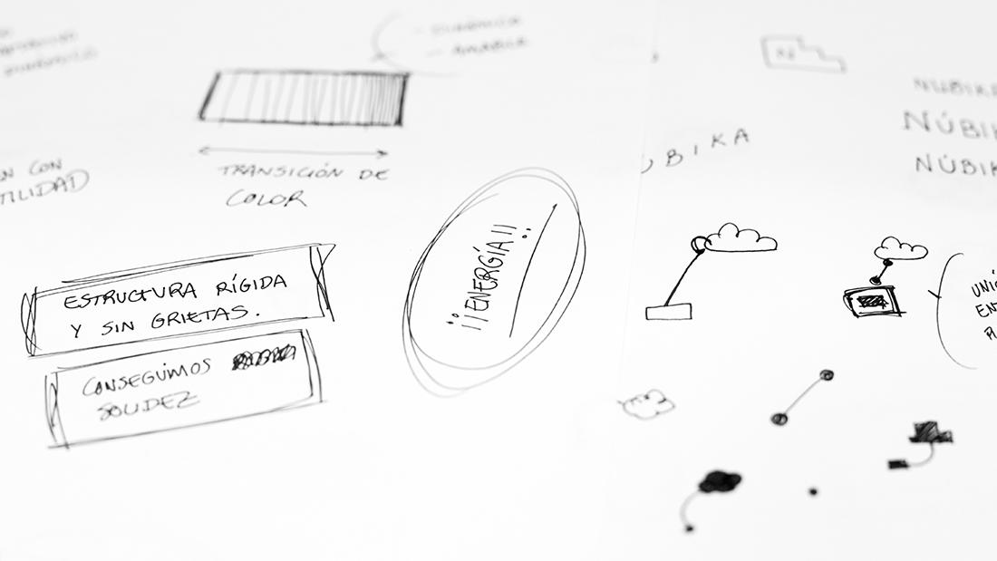 Nubika: Proyecto de branding y diseño web  - Making of