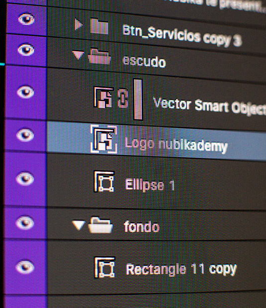 Nubika: Elementos digitales - Making of 5