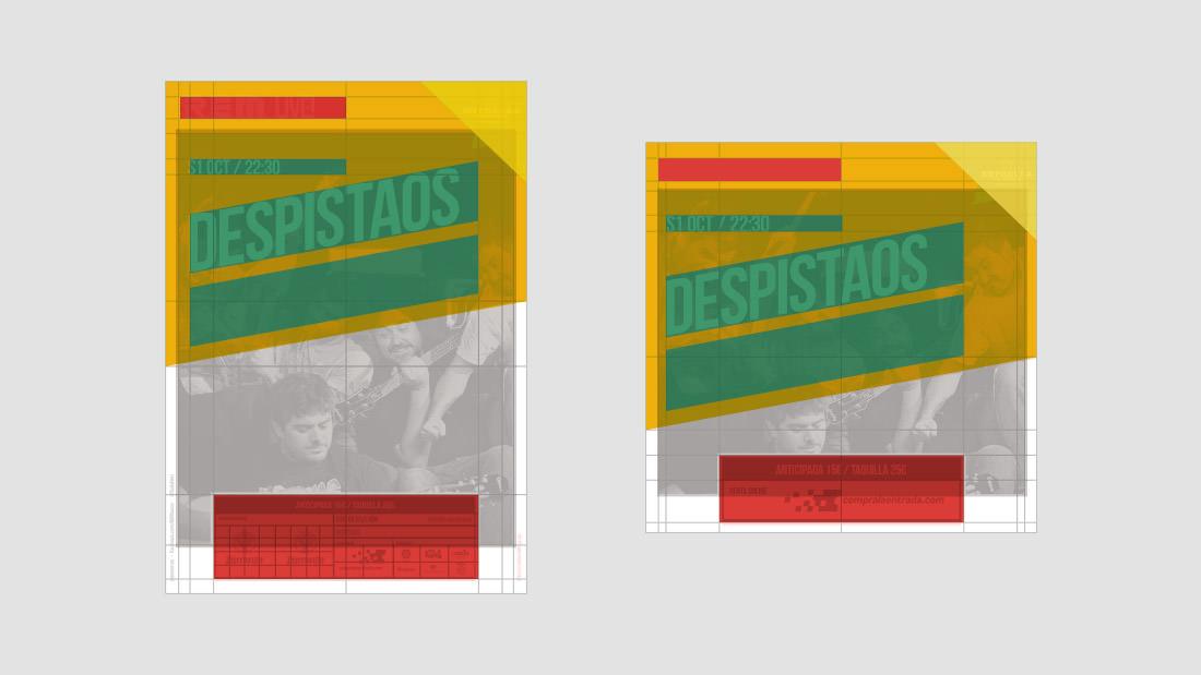 Sala REM Proyecto de Diseño gráfico y comunicación - Making of cartelería