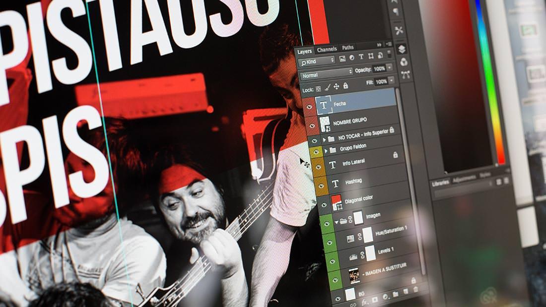 Sala REM Proyecto de Diseño gráfico y comunicación - Making of edición