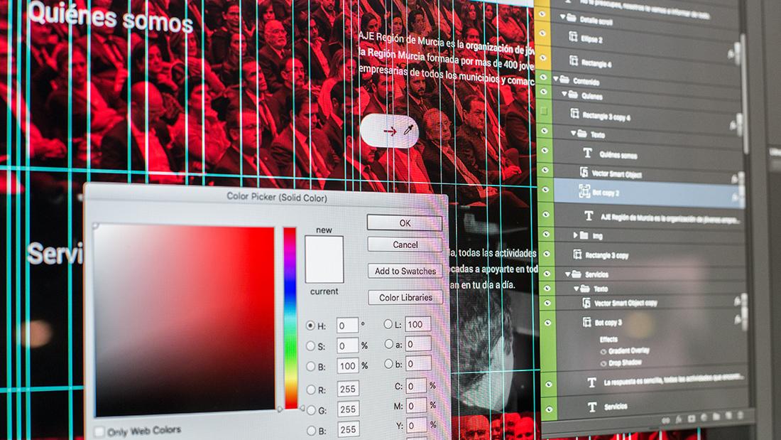 Making of Proyecto diseño web : SOY DE AJE - 8