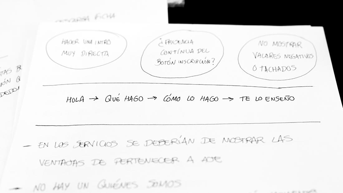 Making of Proyecto diseño web: SOY DE AJE