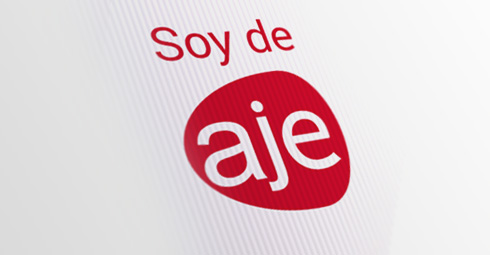 Soy de AJE - Design and web development by Drool Studio